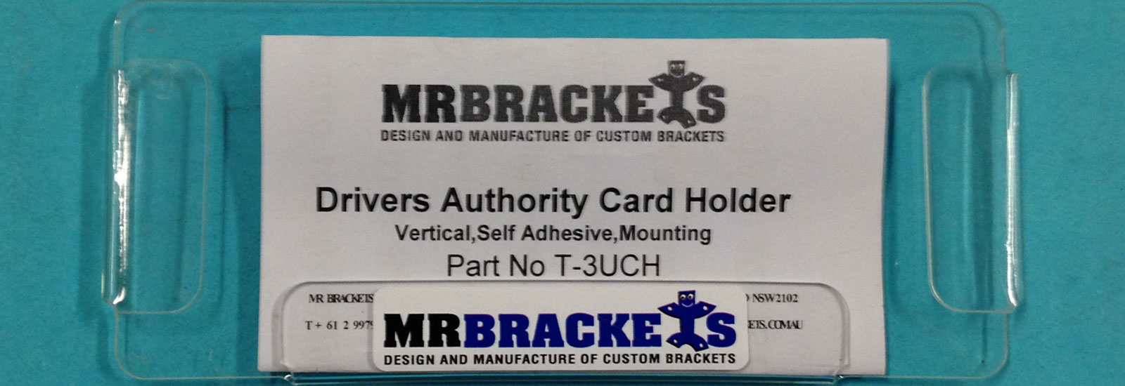 Windscreen Mounting Drivers Authority Card Holder
