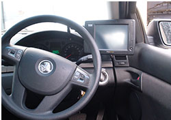 MOBILE DATA TERMINAL (MDT) TAXI MOUNTING BRACKETS